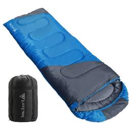 Outdoor Camping Sleeping Bag with Compression Sack for Tent
